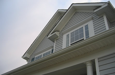 Windows, Siding, and Gutters